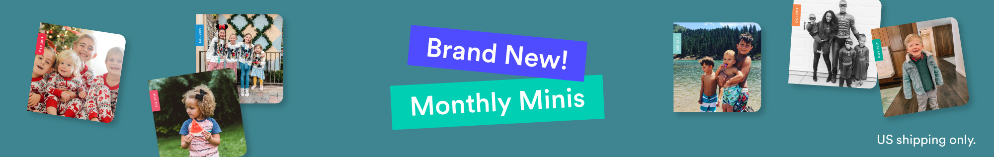 Monthly Minis, Mini photo books